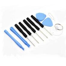 Новинка, 11 в 1, инструменты для открывания, набор для разборки iPhone 4, 4S, 5, 5S, 6, 6 S, набор инструментов для ремонта смартфона, набор отверток