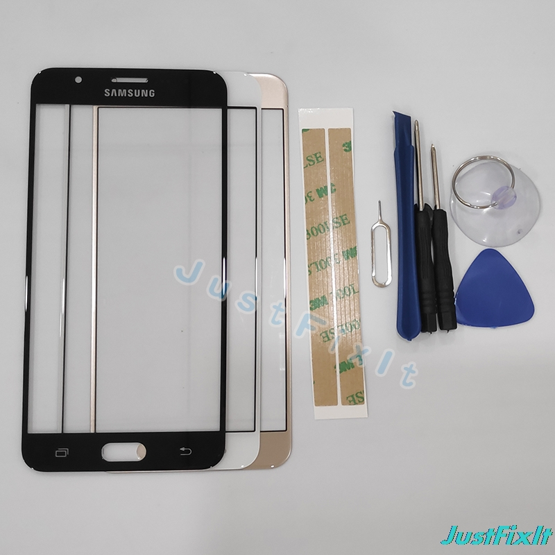 J7 prime Äußere Glas Für Samsung Galaxy J7 prime Front Glas Touch Screen Panel Digitizer Sensor Ersetzen Glas