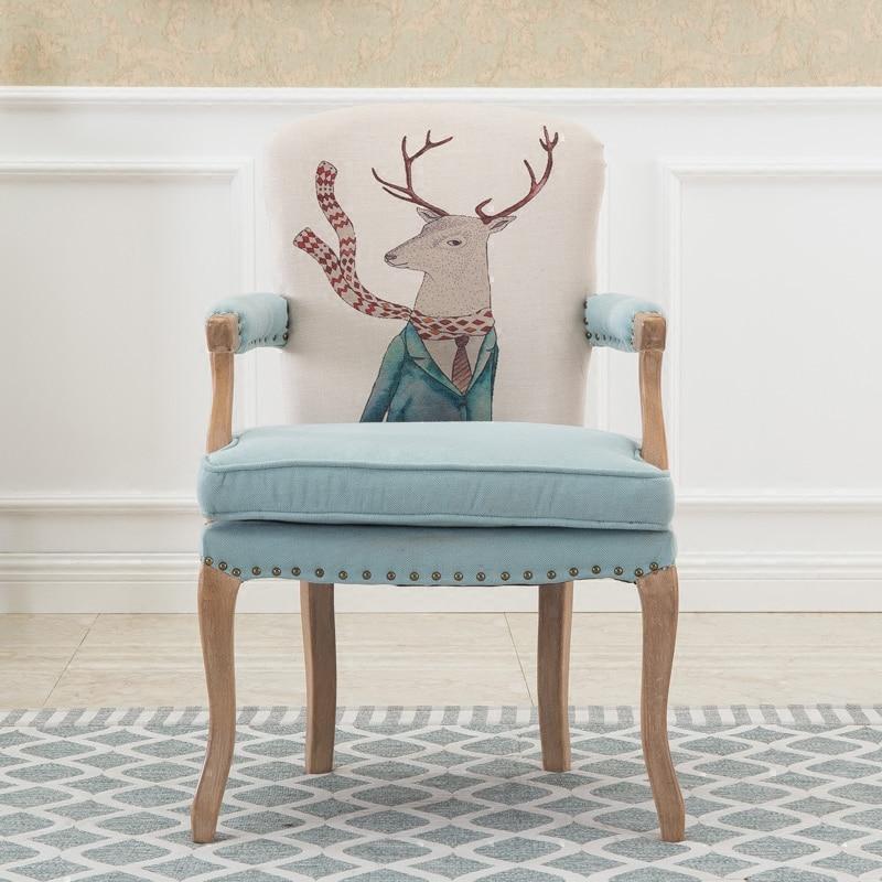 europischen amerikanischen stil massivholz esszimmerstuhl retro alten stil sessel verhandlung casual caf kreative stuhlchina - Esszimmer Sessel