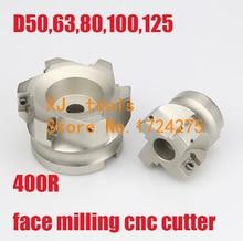 BAP400R 50 22 4F 63 22 4F 80 27 6F 100 32 6F CNC APMT1604 Milling cutter dish Install APMT1604 Carbide insert Free shipping