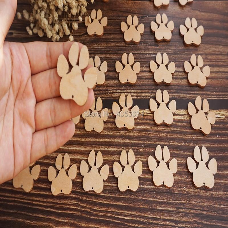 Деревянные собачьи лапы, крафтовые формы, фанера, животные