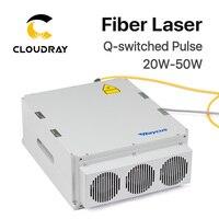 Raycus 20 Вт Вт 50 Вт Q switched импульсный волоконный лазер серии GQM 1064nm высокое качество лазерная маркировочная машина DIY часть
