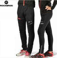 RockBros Men Thermal Winter Cycling Long Pants Wind Bicycle Bike Tights Trousers