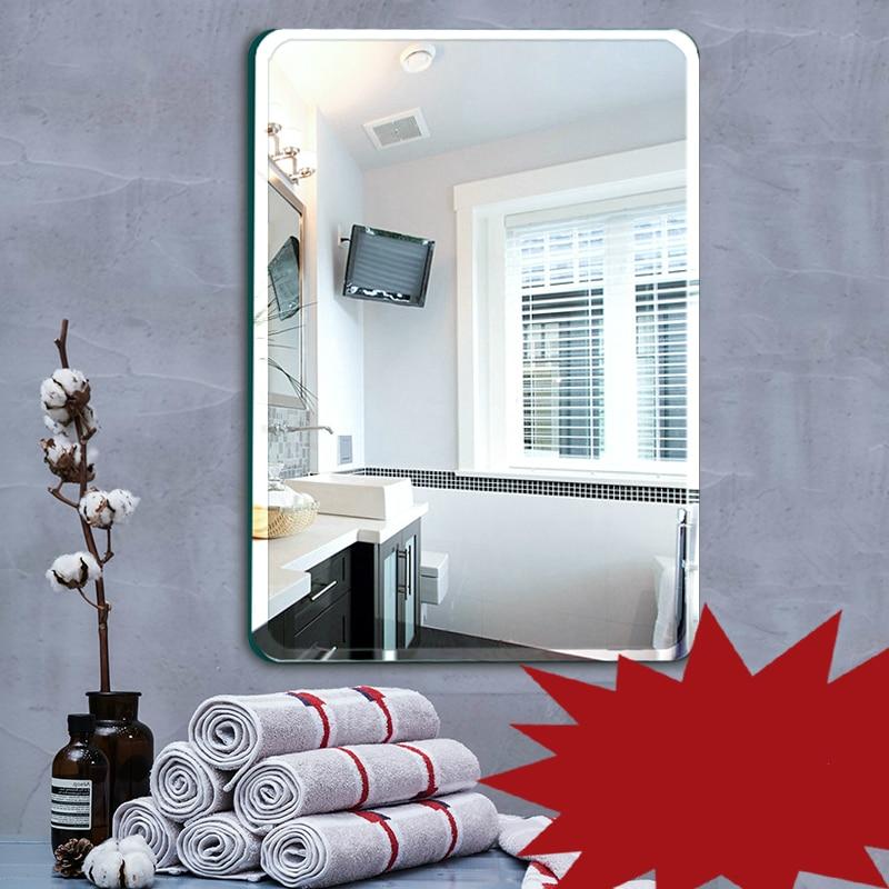 7. Cuarto de baño espejo de baño, espejo de la pared de estilo chino ...
