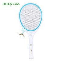 Elektronische tragbare mückenfledermaus nachtlicht Bug Zapper raquete mata Fly Moskito-killer Schädlingsbekämpfung Angetrieben Lade Verwenden