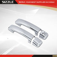 ABS Plastic Chrome Door Handle Cover No PSKH Parts For Toyota Tundra/ Fj Cruiser 2D 2007-2013