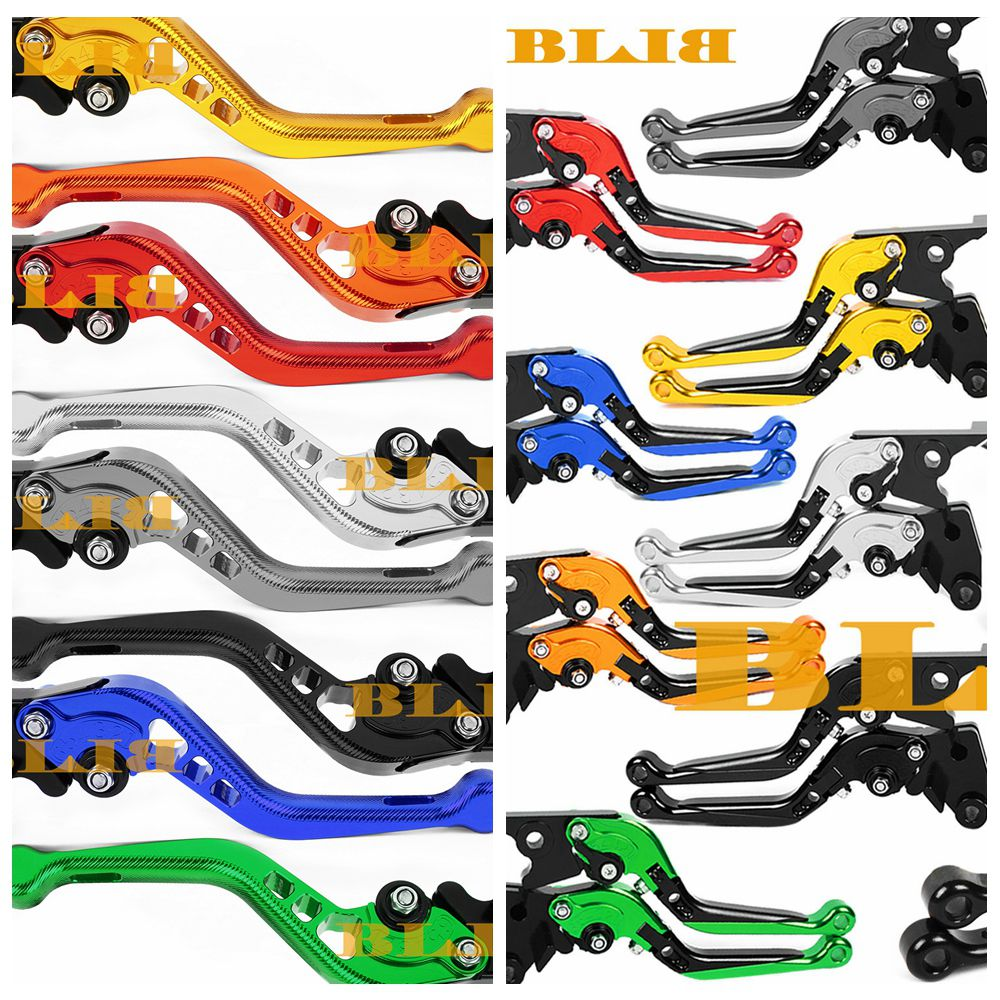 Motorcycle CNC Brake Clutch Levers Set Adjustable Folding Extendable for BMW R1200R R1200RS 2015-2017,R1200RT 2014-2017,R1200GS 2013-2017,R1200GS Adventure 2014-2017