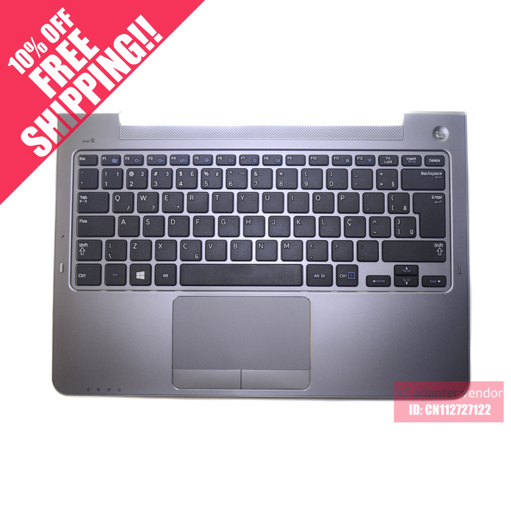 The New FOR Samsung NP530U3C 530U3B 535U3C 540U3C 532U3C Laptop Keyboard With C Shell