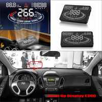 Vehicle HUD Head Up Display For Hyundai ix35 / Tucson 2009~2016 - Safe Driving Screen Projector Refkecting Windshield