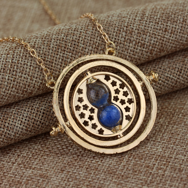 Feimeng jewelry hermione granger time turner necklace rotating feimeng jewelry hermione granger time turner necklace rotating horcrux time converter hourglass pendant necklace for women gifts in pendant necklaces from mozeypictures Image collections