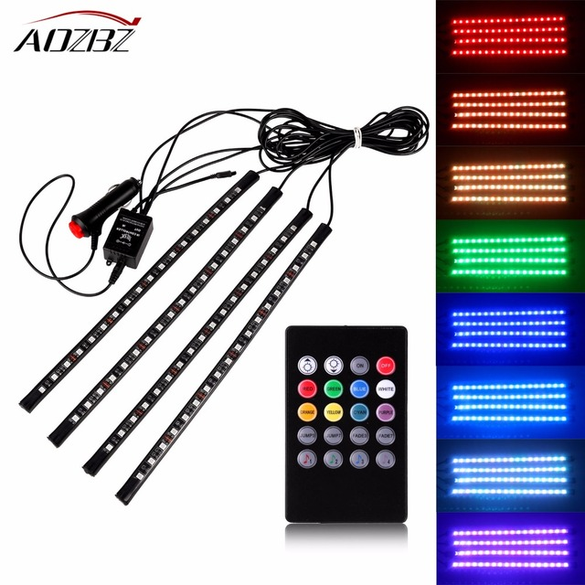 Car rgb led strip light music control led strip lights 8 colors car rgb led strip light music control led strip lights 8 colors car styling atmosphere lamps mozeypictures Gallery