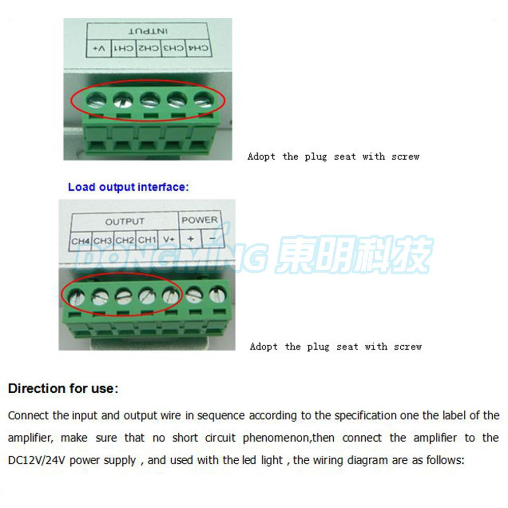 Rgb amplifier dc 5v 12v 24v led amplifier controller 6a current led getsubject aeproduct cheapraybanclubmaster Gallery