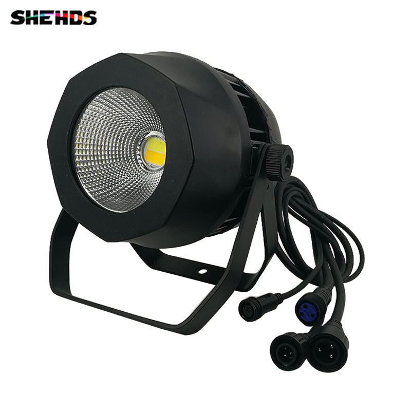 New Design 200W Waterproof COB Led Par Light Aluminum alloy High Power Background LED Light DMX 3Pin Outdoor for Club Party ip67 die cast aluminum alloy module ac100v 110v 220v 200w led high mast tunnel stadium flood light fixture