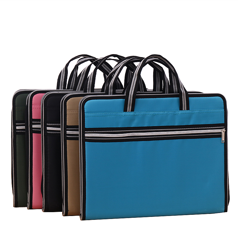 student Fashion creative tote Portable canvas organ bag A4 Business office conference Data bag 6 colors to choose from 7 colors to choose carb standard high quality wooden bookstand 4 slots environmental bookend creative student office stationery