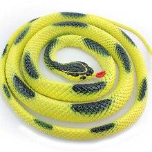 Biology Learning & Education Simulation Wild 1.45m Rock Python Plastic Snake Toy Replica Cat Scarer Deterrent