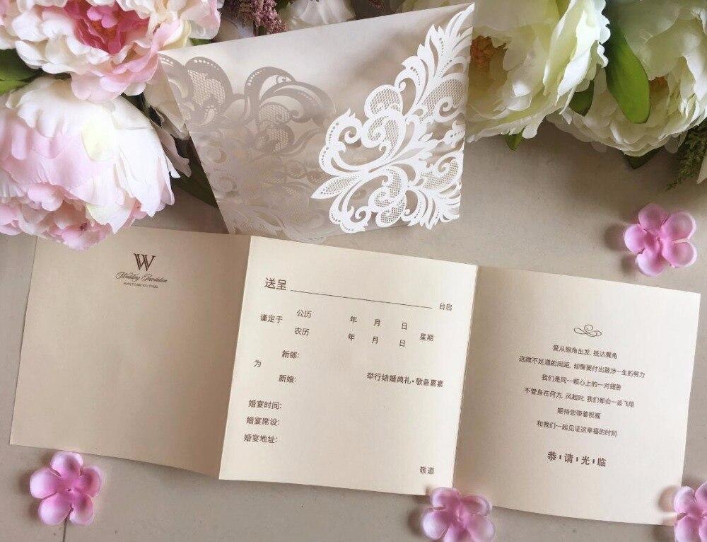 Buy Wedding Invitation Kits: Aliexpress.com : Buy Laser Cut Lace Wedding Invitations