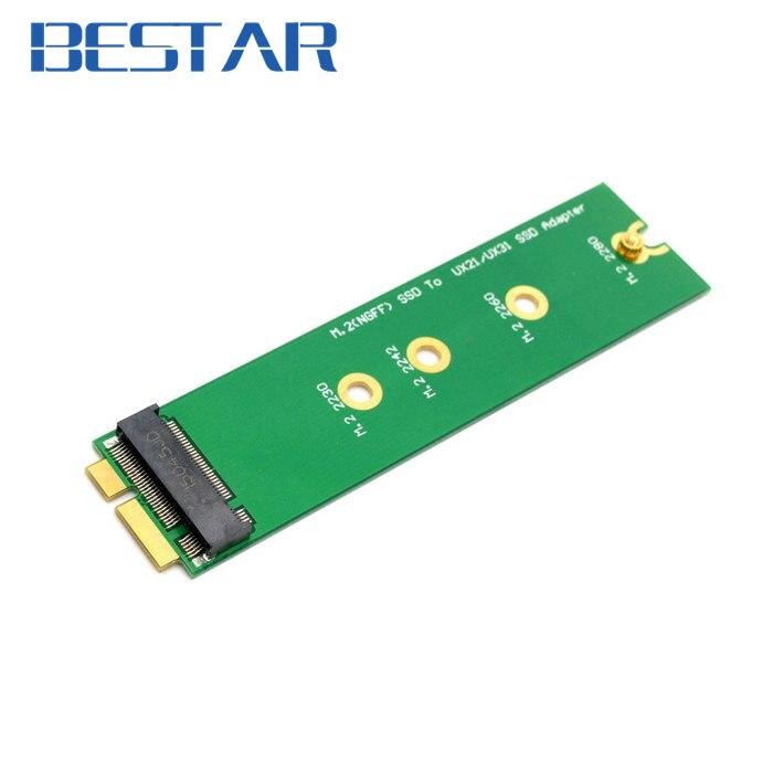 PCIE PCI express 2 Voie M.2 PCI-E ssd NGFF SSD 30mm 42mm à pour ASUS EP121 UX21 UX31 SANDISK ADATA XM11 SSD Ajouter sur Cartes PCBA