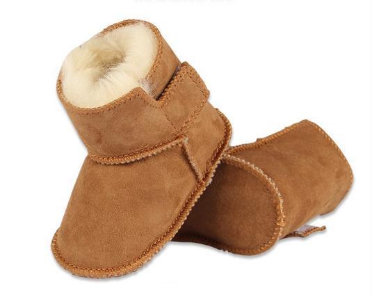Лидер продаж в России Детские Обувь для малышей Infantil зима теплая обувь из искусственного меха для маленьких девочек пинетки кожаные для мал...