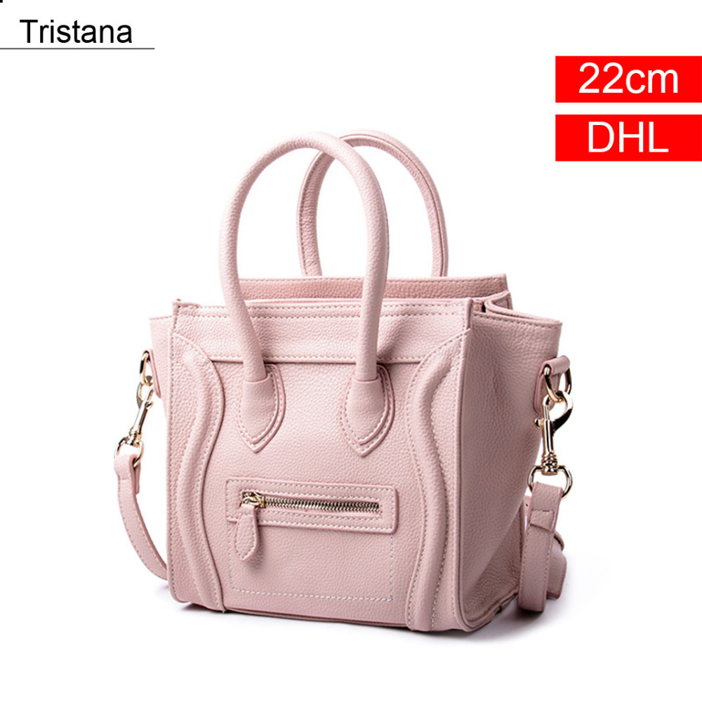 Tristana Nude Color Women Handbags & Crossbody bags Fashion Flap Nano PU Bag DHL flap pu crossbody bag
