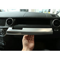 Fit For Land Rover LR4 Discovery 4 Car Middle Console Storage Box Panel Frame Cover Trim