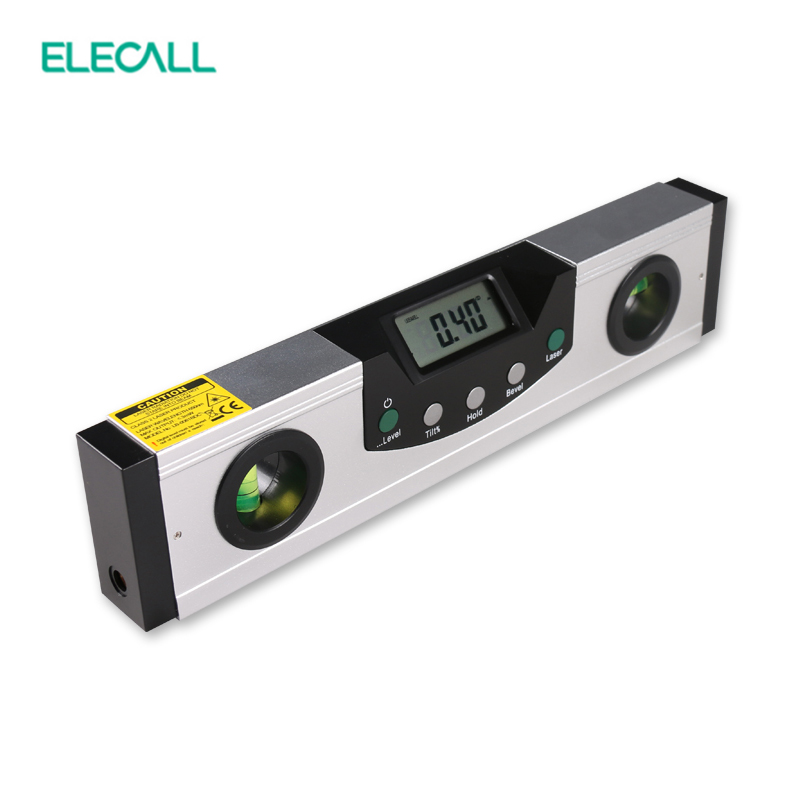 EM5416-200 High Quality Multipurpose Level With Bubble Laser Horizon Vertical Measure Tape The Horizontal Ruler kapro high precision aluminum alloy horizontal ruler 360 degree rotating bubble level 40cm 60cm