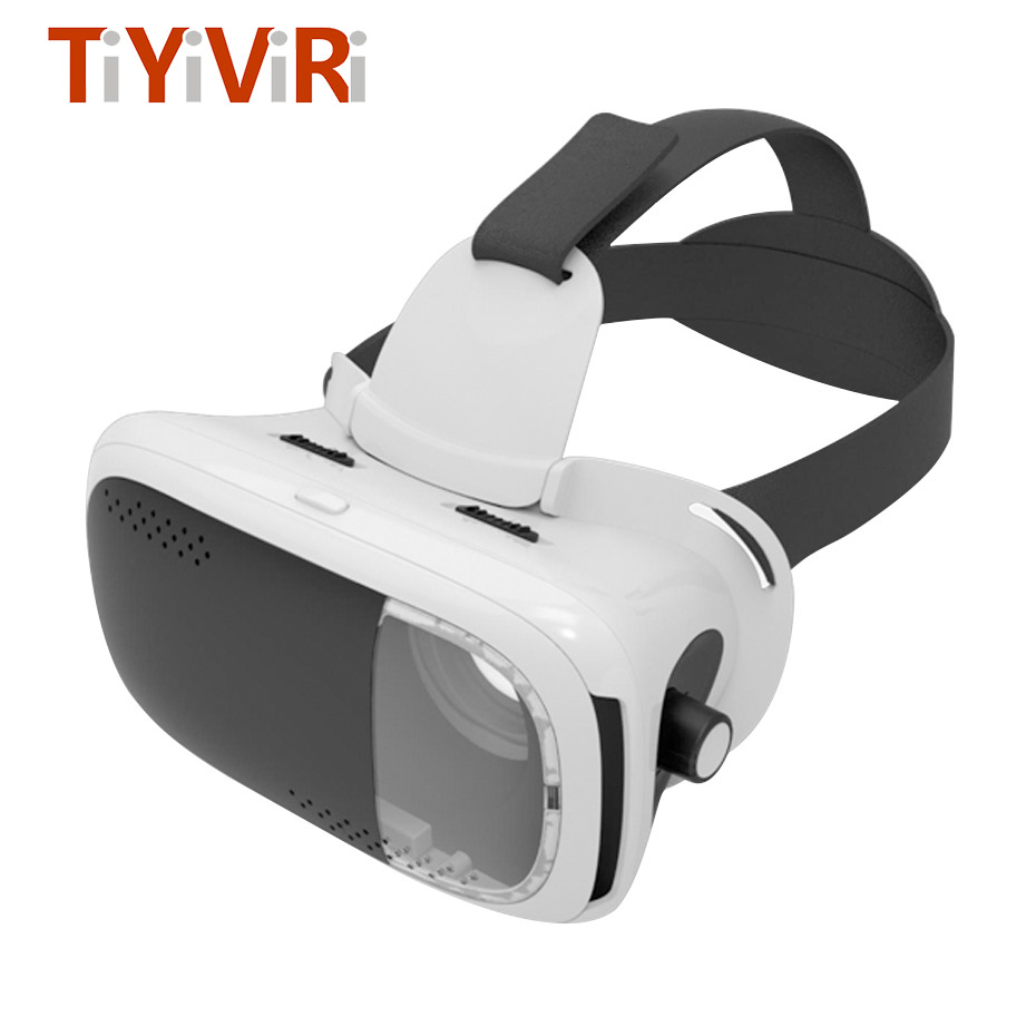 VR BOX 3D Glasses Headset VR Glasses Googles Cardboard Virtual Reality Goggles For Iphone Android Samsung 3.5 ~ 6.0