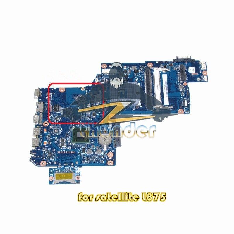 H000043480 for toshiba satellite L870 C870 L875 laptop motherboard 17.3'' HM76 HD4000 DDR3 new h000041510 laptop motherboard for toshiba satellite c870 l870 17 3 7610m hd4000 ddr