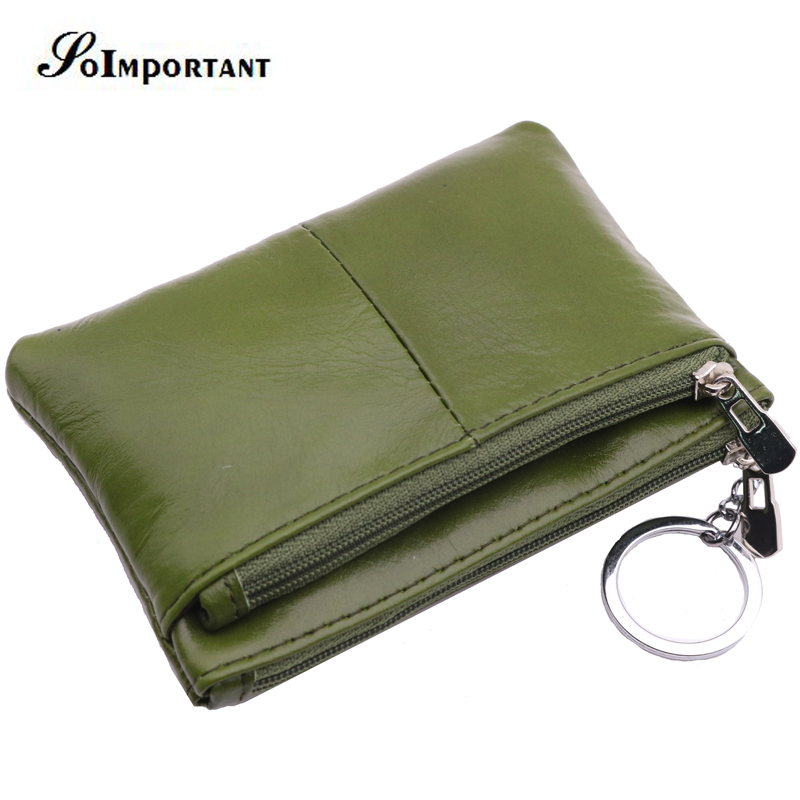 New Women Wallets Small Purse Genuine Oil Wax Leather Wallet Female Mini Walet ID Card Coin Purse Double Zipper Coin Key Holder perry kaufman j a guide to creating a successful algorithmic trading strategy