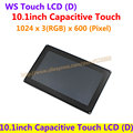 10.1inch Capacitive Touch LCD (D) 1024*600 TFT Multicolor Graphic LCD 5 multi-touch Touch screen stand-alone