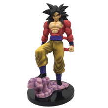 лучшая цена New Hot PVC Action Figure Zero EX dragon ball GT super saiyan 4 son goku model doll decoration collection figurine toys for gift