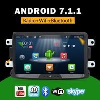 8 Car Dvd Car Multimedia player Android 7.1 Autoradio 2 Din For Dacia/Sandero/Duster/Renault/Captur/Lada/Xray 2/Logan 2 USB DVR