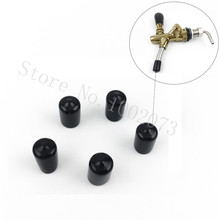 New Style Draft Beer Tap Smoother Faucet Cap Spout Black Pourer Cover Spouts 5pcs/lot