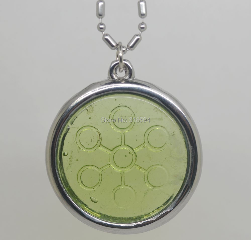 Necklace Bio-Disc 6000-7000ions Pendant Test-Video Energy-Scalar Offer Stainless-Steel