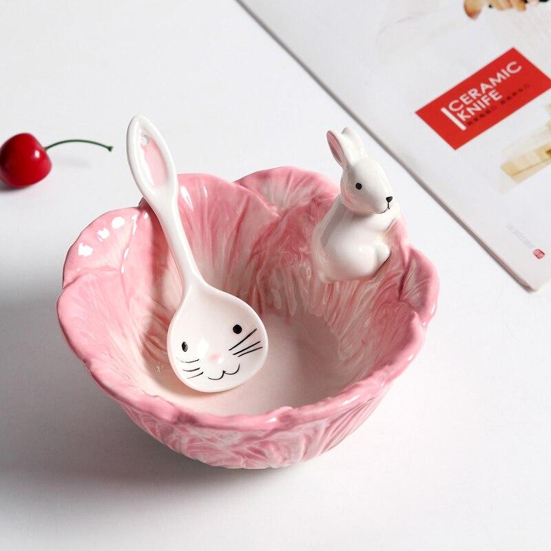 Chinese hand painted underglazed ceramic bowl of snacks