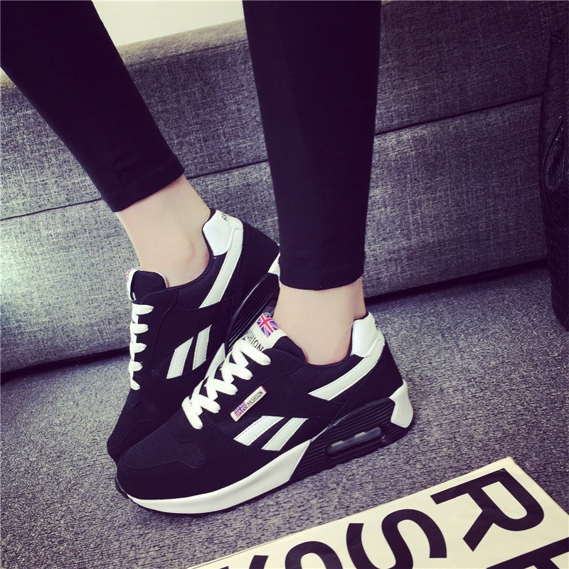 Women Tennis Shoes Air Cushioning Breathable Female Sneakers Outdoor Jogging Sport Trainers Tenis Feminino Basket Fitness Shoes