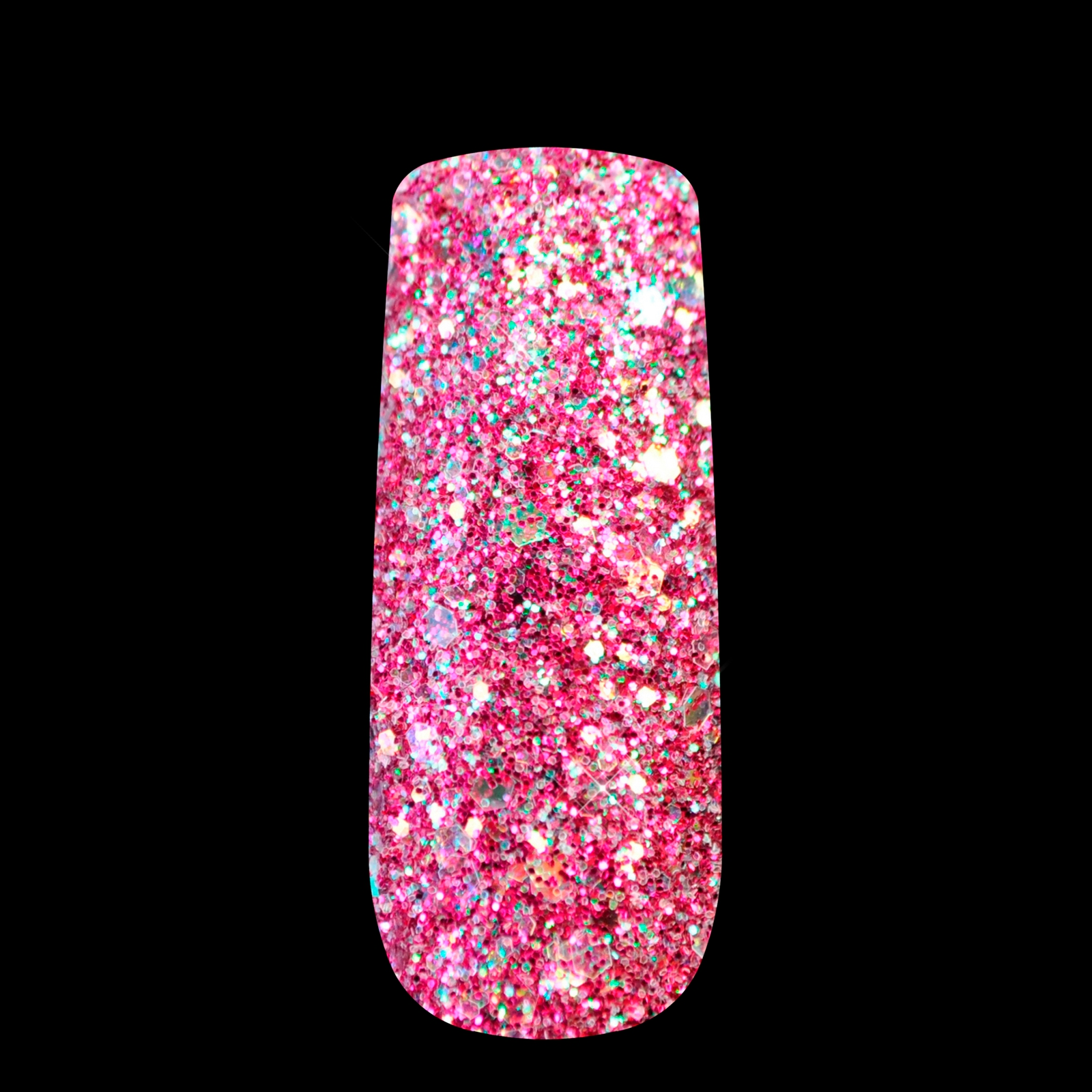 ⃝Nail Surface Ornamentation Glitter Powder Colored Sequins ...