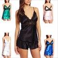 O envio gratuito de 2016 Mulheres Eróticas Pijamas Sexy Lingerie Feminino Mini Chemise Plus Size XL XXL XXXL XXXXL Desgaste Da Noite Quente venda