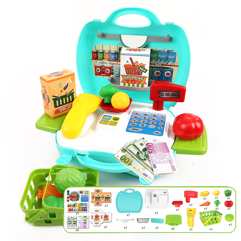 cashier register toy Simulation Cash Register supermarket ca