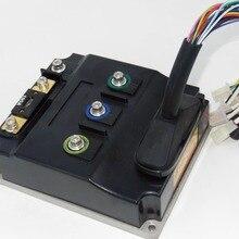 Интеллектуальный 96V 80A бесщеточный контроллер синусоидальной волны для электровелосипеда бесщеточный контроллер синусоидальной волны