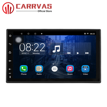 CARRVAS 1 Din Quad Core Android 8.1 Car Multimedia 7 inch GPS Navigator 4G RAM 32G ROM Bluetooth