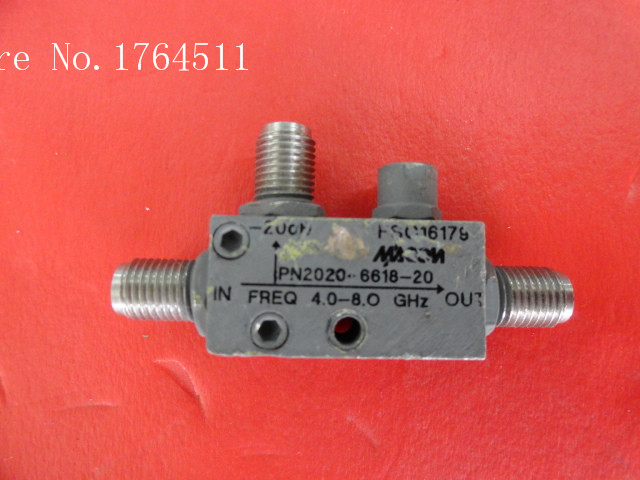 [BELLA] M/A-COM 2020-6618-20 4-8GHz 20dB Directional Coupler SMA