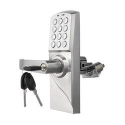 الإلكترونية قفل باب بكود الذكية الرقمية لوحة المفاتيح كلمة ، مفتاح الفولاذ المقاوم للصدأ واحدة مزلاج lk717BS