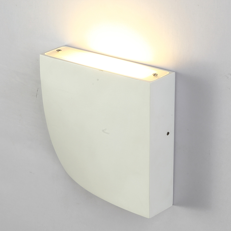 Modern LED wall lamp COB 6W home decoration wall light for living room aluminum wall sconce Super bright thin lighting fixture new 120degree waterproof cube cob led light wall lamp modern home lighting decoration outdoor wall lamp aluminum 6w ac85 265v