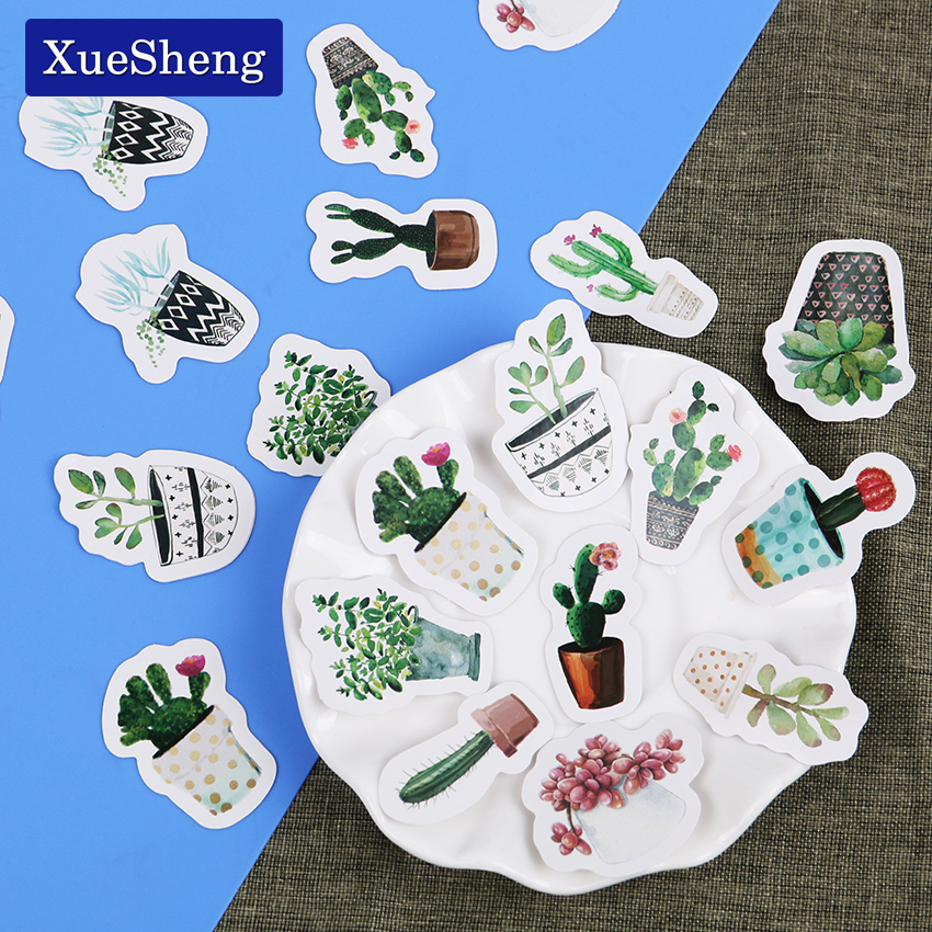 135PCS/3sets Cultured Green Plants Label Stickers Decorative Stationery Stickers Scrapbooking DIY Diary Album Stick Label jacquard green label silk colors cyan [pack of 3 ]