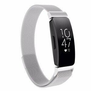 Image 2 - Đa màu sắc dây đeo Fitbit Inspire dây đeo kim loại Inspire HR Fitbit Inspire/Inspire HR kim loại dây đeo tay Fitbit flex