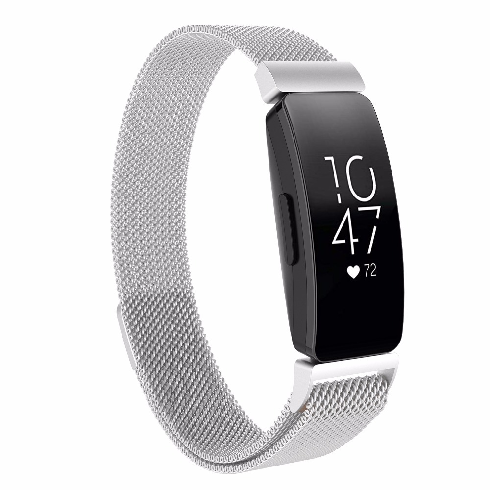 Image 2 - multi color strap for fitbit inspire metal strap inspire HR For fitbit inspire / inspire HR metal wristband  fitbit flex-in Smart Accessories from Consumer Electronics