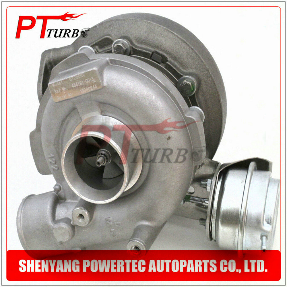 Turbocharger GT2556V for BMW 530d E39 730d E38 <font><b>M57</b></font> <font><b>D30</b></font> 184 Hp- complete turbolader <font><b>turbo</b></font> 454191 454191-5015S TURBINE 11652248906 image