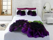 Комплект постельного белья двуспальный-евро VIRGINIA SECRET, Bamboo, фиолетовый, 3D