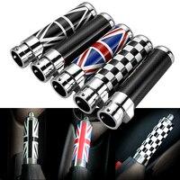 1 шт Цвет углеродного волокна рукоятки ручного тормоза аварийного Накладка для BMW Mini Cooper Clubman R55 R56 R57 R58 R59 аксессуары