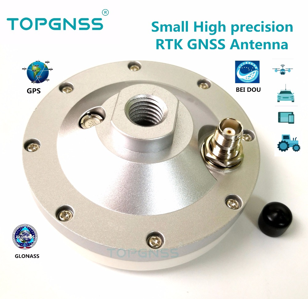 unmanned high-precision Drone measurement RTK Antenna New small-sized 30-15V high gain GNSS GPS GLONASS BDS